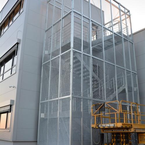 Montáž ocelové konstrukce